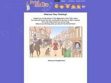What Are They Thinking? Worksheet
