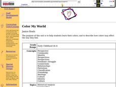 Color My World Lesson Plan
