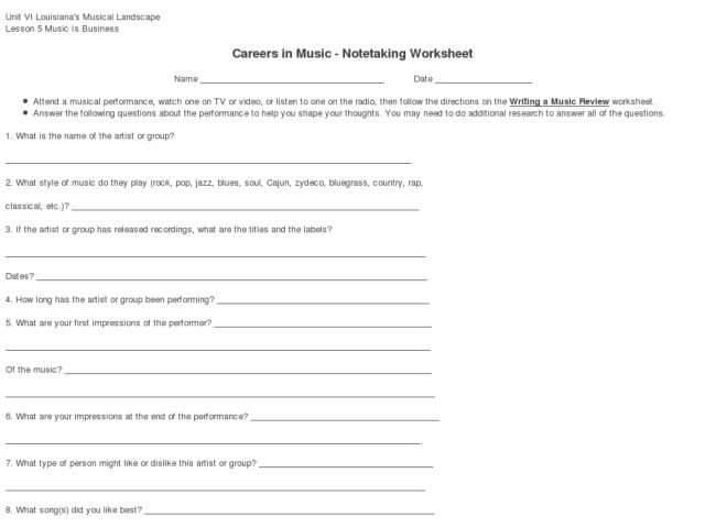 how to write a blurb worksheet