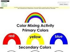 Color Mixing Activity Worksheet