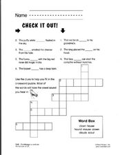 Check It Out! Worksheet