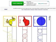 Color Worksheet Worksheet