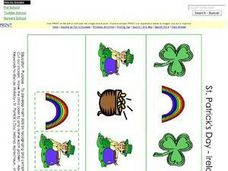 Pattern Activity- St. Patrick's Day- Ireland Worksheet