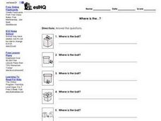 Where Is The ...? Worksheet