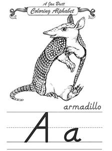 Coloring Alphabet Worksheet