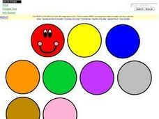 Caterpillar Learn the Colors Worksheet