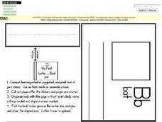 The B Book:  Definitions and Illustrations Worksheet