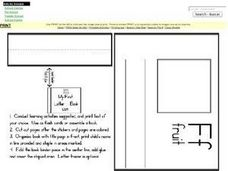 My First Letter F Book Worksheet