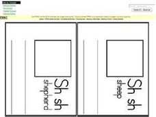 "The Digraph ""Sh"" Worksheet"