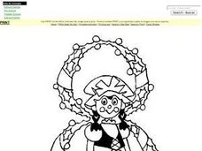 8 Maids A-Milking Coloring Page Worksheet