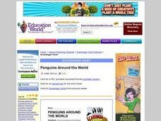 Penguins Around the World Scavenger Hunt Worksheet