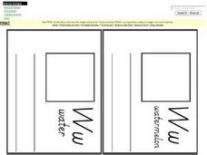 Ww Mini Book Worksheet