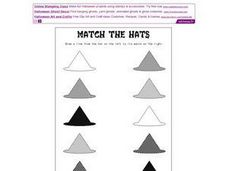 Match the Hats Worksheet