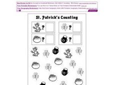 St. Patrick's Counting Worksheet