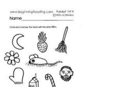Pictures That Show Letter M Words Lesson Plan