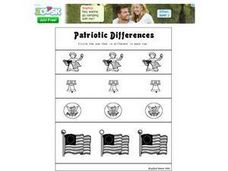 Patriotic Differences Worksheet