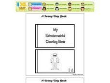 My Extraterrestrial Counting Book Worksheet