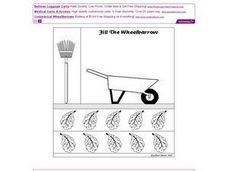Fill the Wheelbarrow Worksheet