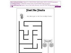 Find the Fiesta Worksheet