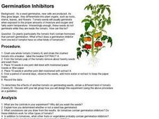 Germination Inhibitors Worksheet