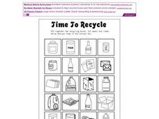 Time to Recycle Worksheet