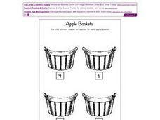 Apple Baskets Worksheet