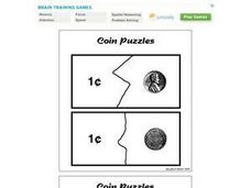 Coin Puzzles Worksheet