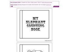 My Elephant Counting Book (1 to 10) Worksheet