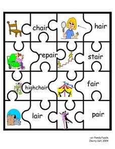 -air Family Puzzle Lesson Plan