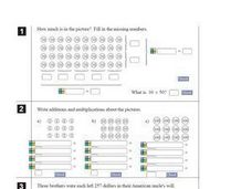 Multiplication Breakdown Worksheet Worksheet
