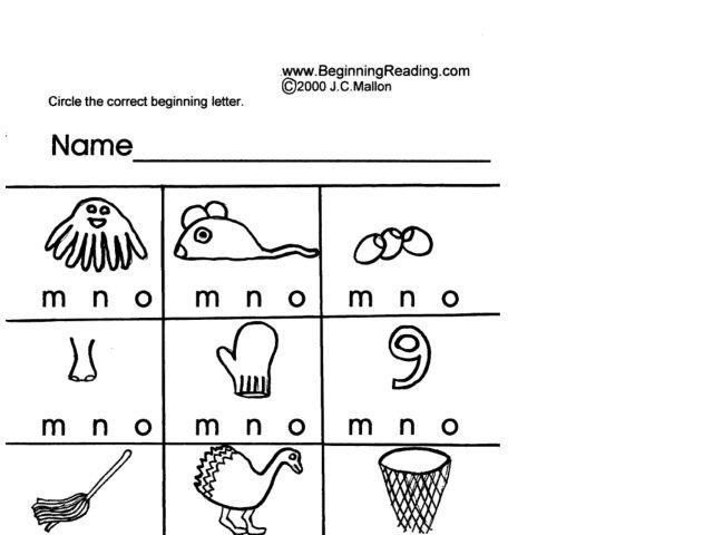 alphabet letters m n and o worksheet for pre k. Black Bedroom Furniture Sets. Home Design Ideas