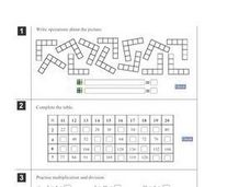 Multiplication and Division Order of Operations Worksheet