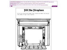Fill the Fireplace Worksheet