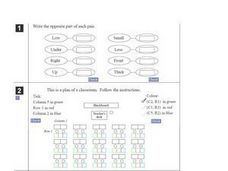 Shapes, Pictures and Floor Plans Worksheet