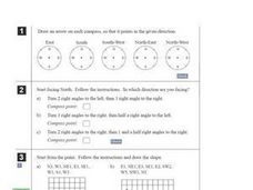Compass Directions Worksheet