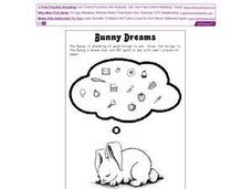 Bunny Dreams Worksheet
