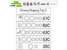 Grocery Shopping Trip 3 Worksheet