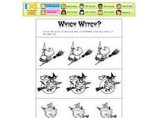 Which Witch? Worksheet