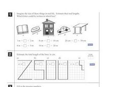 Estimation in Real Life Problems Worksheet