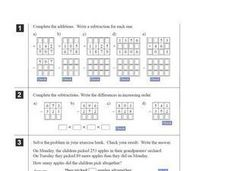 Addition and Subtraction Worksheet Worksheet