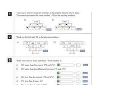 Addition and Algebraic Operations Worksheet