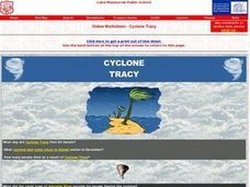 Online Worksheet - Cyclone Tracy's Effect on Darwin Worksheet