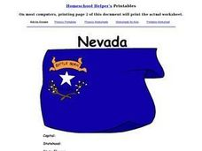 Nevada Worksheet