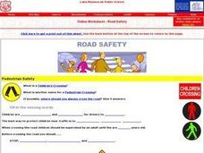 Road Safety Online Research Worksheet Worksheet