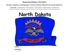 North Dakota Worksheet Worksheet