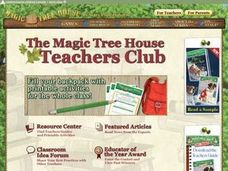 More Than a Name: Magic Tree House Night of the New Magicians Worksheet