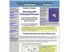 Combining with Participial Phrases Lesson Plan