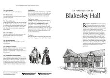 Blakesley Hall Worksheet