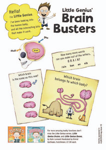 Little Genius' Brain Busters Lesson Plan
