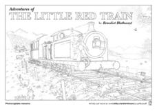The Adventures of the Little Red Train Lesson Plan
